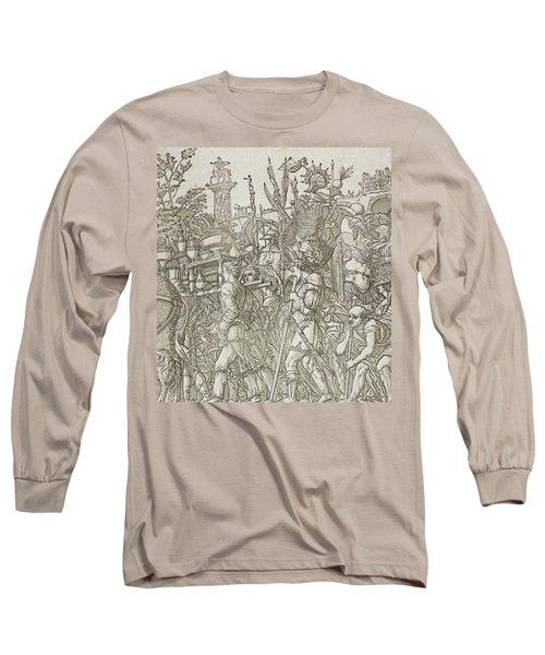 Triumph Of Caesar Long Sleeve T-Shirt