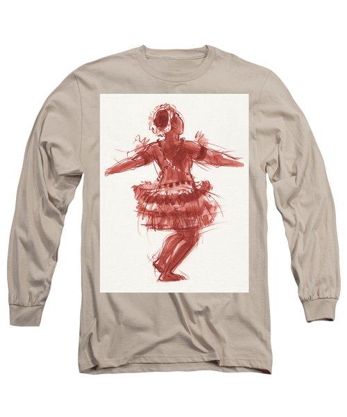 Trobriand Islands Dancer Long Sleeve T-Shirt