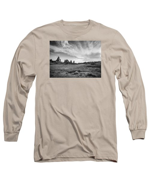 Trona Pinnacles Sky Long Sleeve T-Shirt