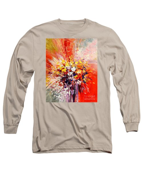 Tropic Intensity Long Sleeve T-Shirt by Tatiana Iliina