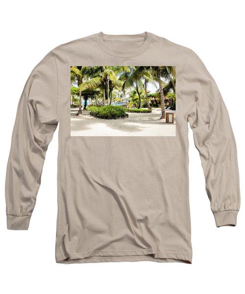 Tropical Courtyard Long Sleeve T-Shirt