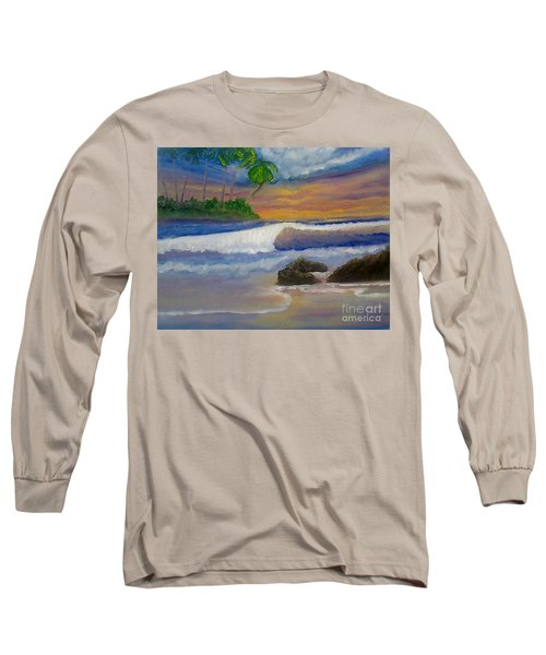 Tropical Dream Long Sleeve T-Shirt by Holly Martinson