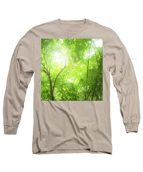 Tropical Forest Long Sleeve T-Shirt