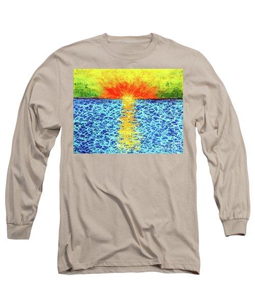 Tropical Sunrise Long Sleeve T-Shirt