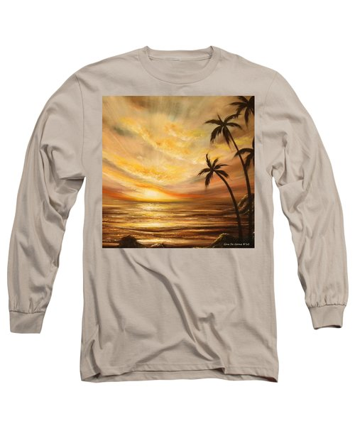 Tropical Sunset 64 Long Sleeve T-Shirt