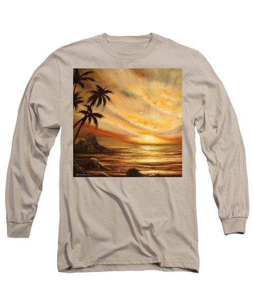 Tropical Sunset 65 Long Sleeve T-Shirt