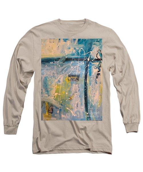 Tropicana Bird 01 Long Sleeve T-Shirt by Gallery Messina