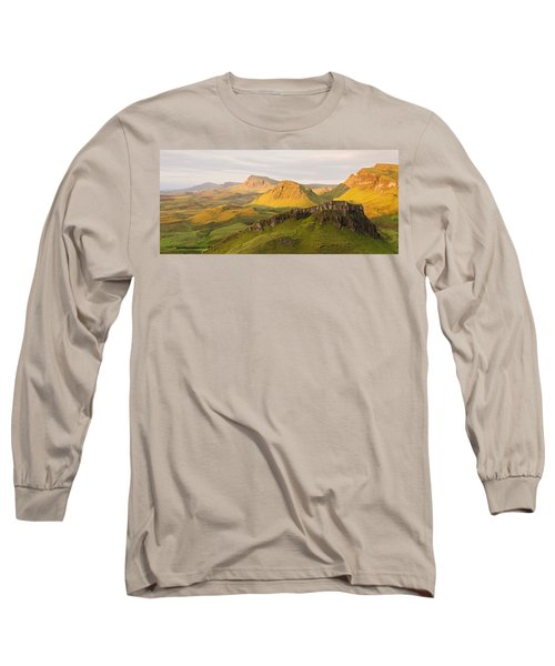 Trotternish Summer Panorama Long Sleeve T-Shirt