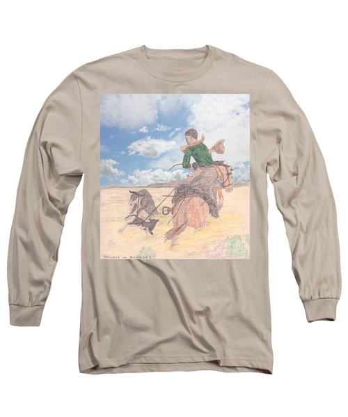 Trouble In Bunches Classic Long Sleeve T-Shirt