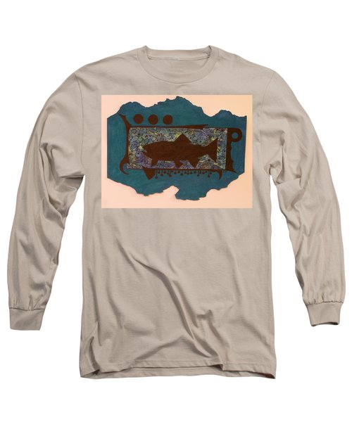Trout Silhouette Long Sleeve T-Shirt