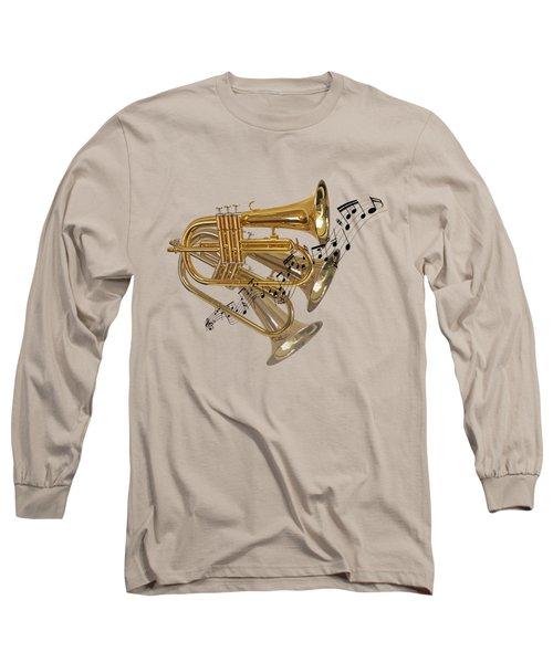 Trumpet Fanfare Long Sleeve T-Shirt