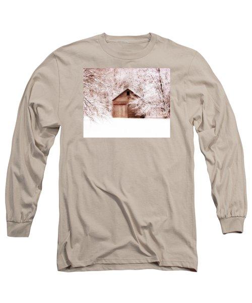 Tucked Away Long Sleeve T-Shirt