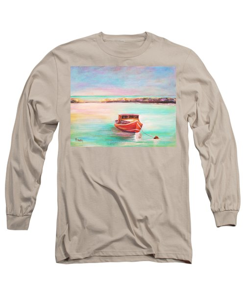 Tucked In Long Sleeve T-Shirt by Patricia Piffath