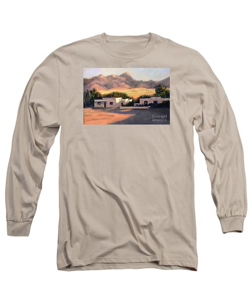 Long Sleeve T-Shirt featuring the painting Tucson,az by Marcia Dutton
