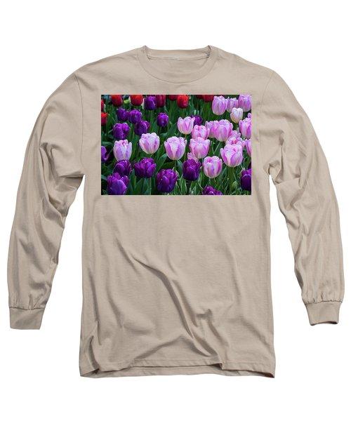 Tulip Blush Long Sleeve T-Shirt
