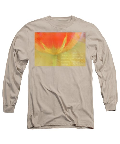 Tulip Long Sleeve T-Shirt by Catherine Alfidi