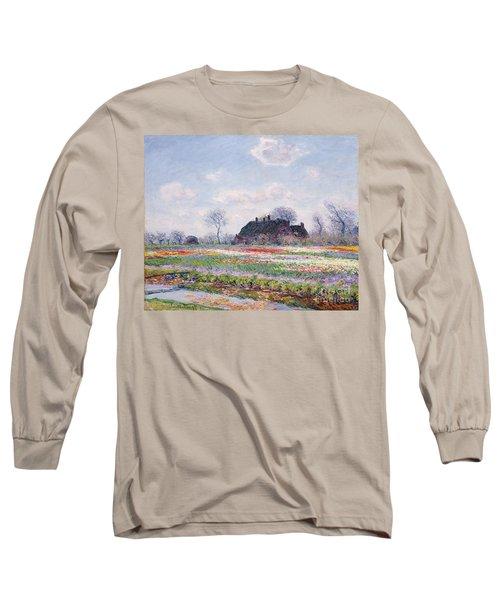 Tulip Fields At Sassenheim Long Sleeve T-Shirt