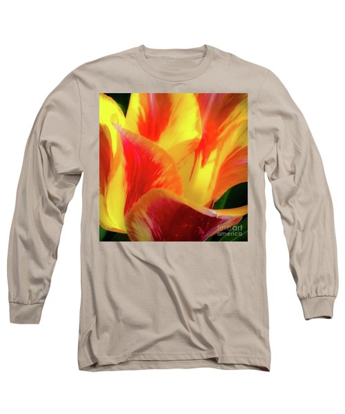 Tulip In Bloom Long Sleeve T-Shirt