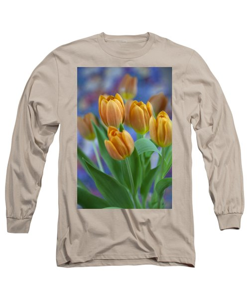Tulips 2015 #1 Long Sleeve T-Shirt
