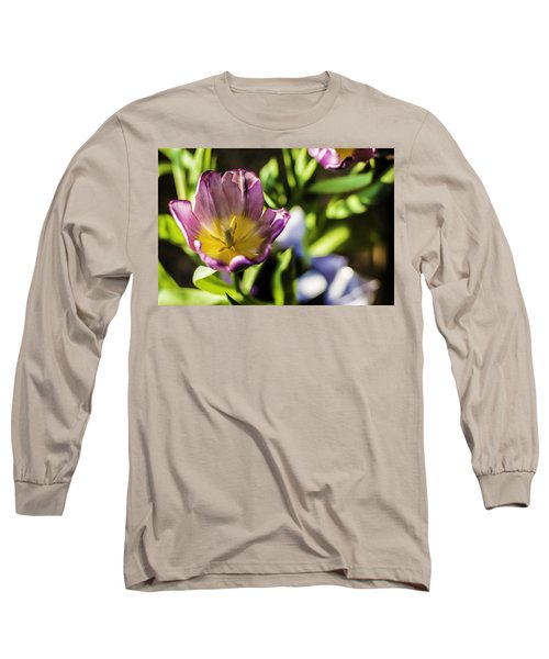Tulips At The End Long Sleeve T-Shirt