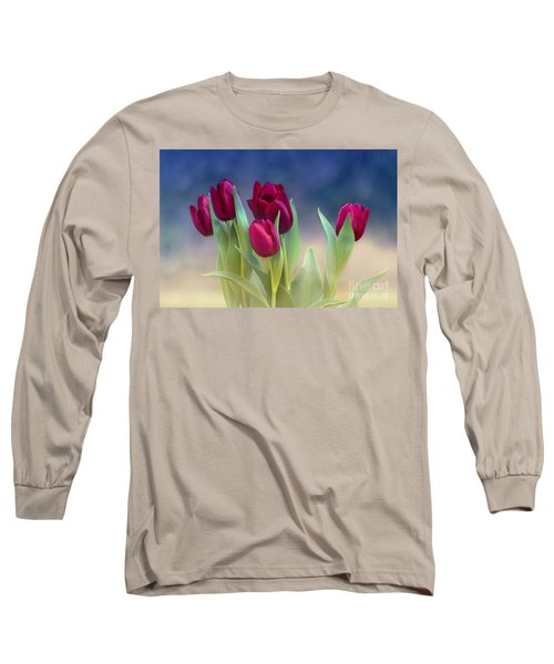Tulips For Spring Long Sleeve T-Shirt