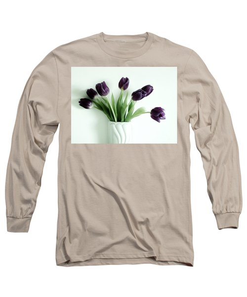 Tulips For You Long Sleeve T-Shirt by Marsha Heiken