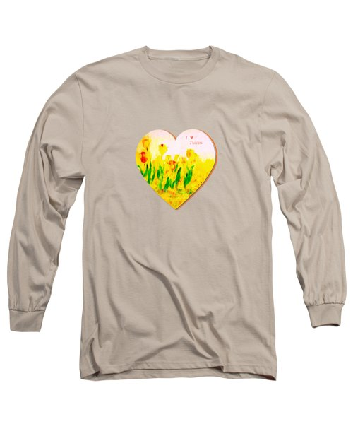 Tulips In Springtime Long Sleeve T-Shirt