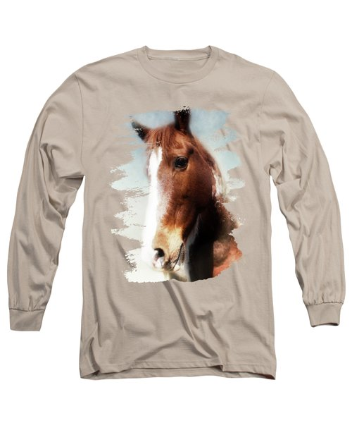 Tumbleweed Sideways Glance Long Sleeve T-Shirt by Anita Faye