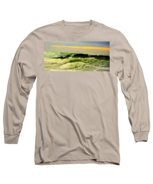 Turbulent Ocean Swell Long Sleeve T-Shirt