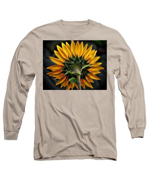 Turn Around In Time Long Sleeve T-Shirt by Karen McKenzie McAdoo