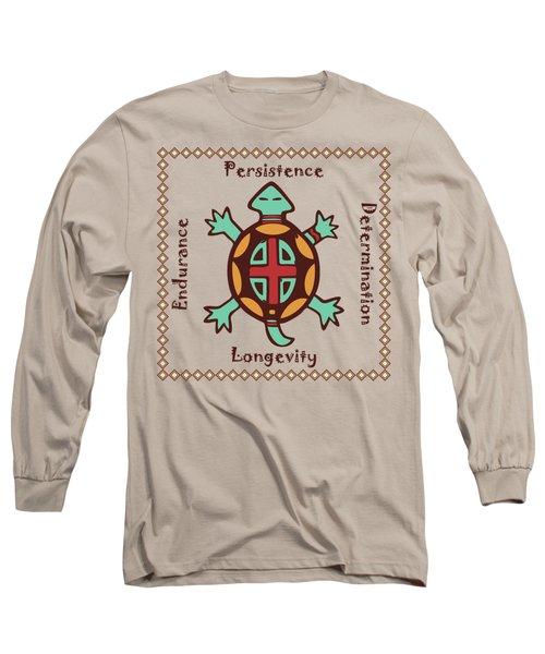 Turtle Animal Spirit Long Sleeve T-Shirt