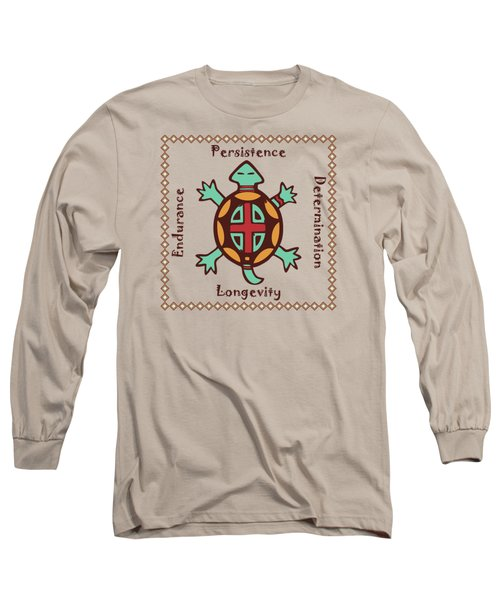 Turtle Animal Spirit Long Sleeve T-Shirt