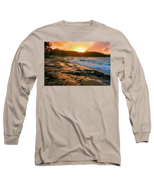 Turtle Bay Sunset 2 Long Sleeve T-Shirt