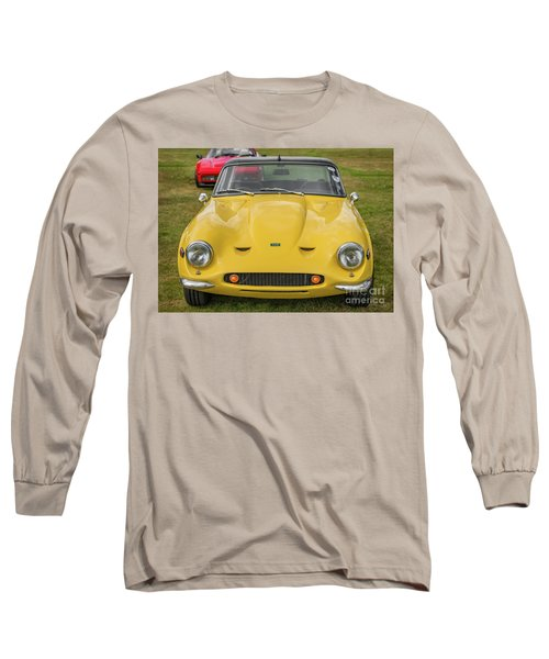 Long Sleeve T-Shirt featuring the photograph Tvr Vixen S2 1969 by Adrian Evans