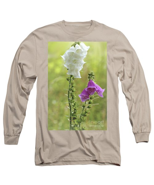 Twin Foxgloves Long Sleeve T-Shirt