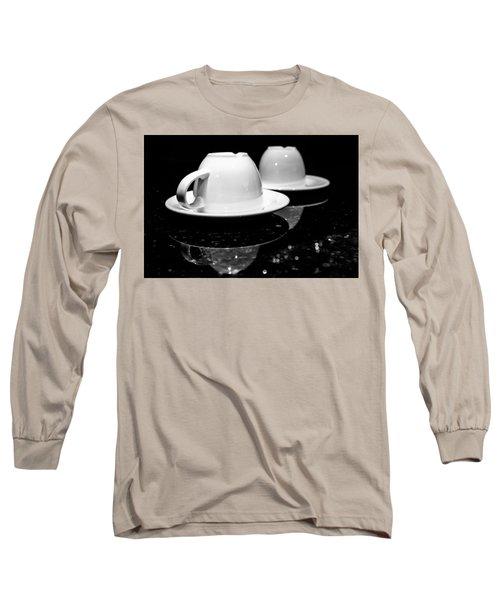 Two Coffee Cups Long Sleeve T-Shirt
