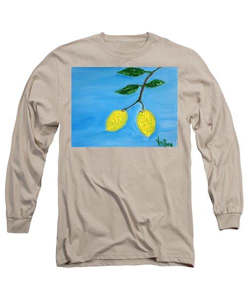 Two Lemons For Karen Long Sleeve T-Shirt
