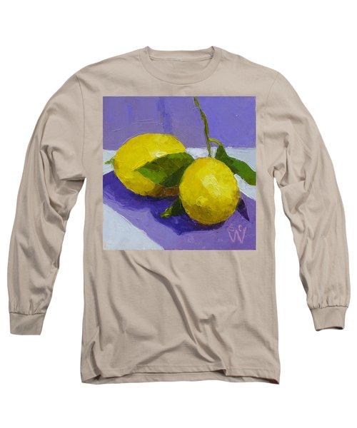Two Lemons Long Sleeve T-Shirt