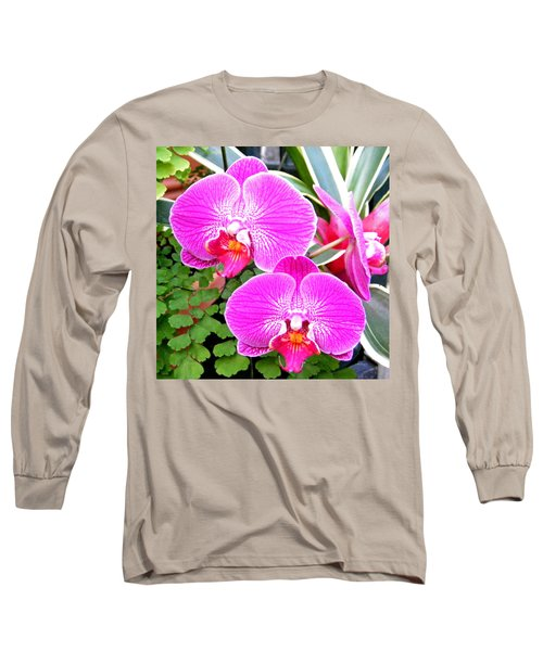 Two Orchids Long Sleeve T-Shirt