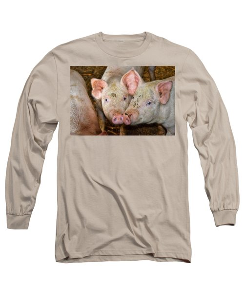 Two Pigs Long Sleeve T-Shirt