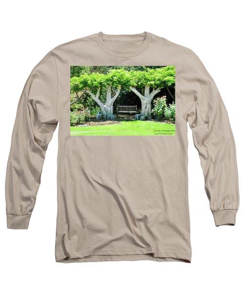 Two Tall Trees, Paradise, Romantic Spot Long Sleeve T-Shirt
