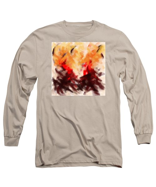 Two To Tango Abstract Long Sleeve T-Shirt