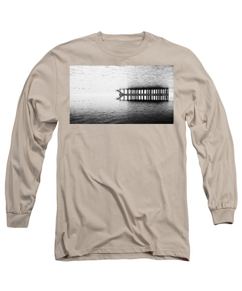 Long Sleeve T-Shirt featuring the photograph Two Worlds by Chevy Fleet