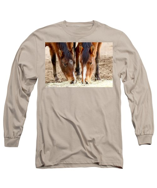 Two Young Friends Long Sleeve T-Shirt