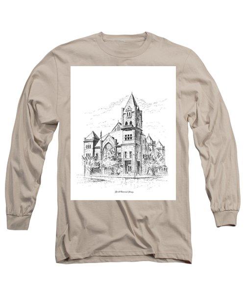 Tyrrell Historical Library Long Sleeve T-Shirt