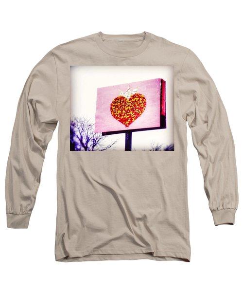 Tyson's Tacos Heart Long Sleeve T-Shirt