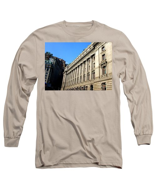 U S Custom House 1 Long Sleeve T-Shirt by Randall Weidner
