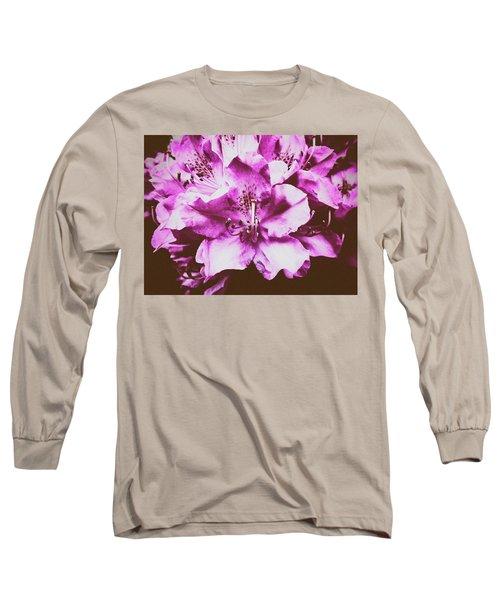 Ultraviolet Long Sleeve T-Shirt by Karen Stahlros