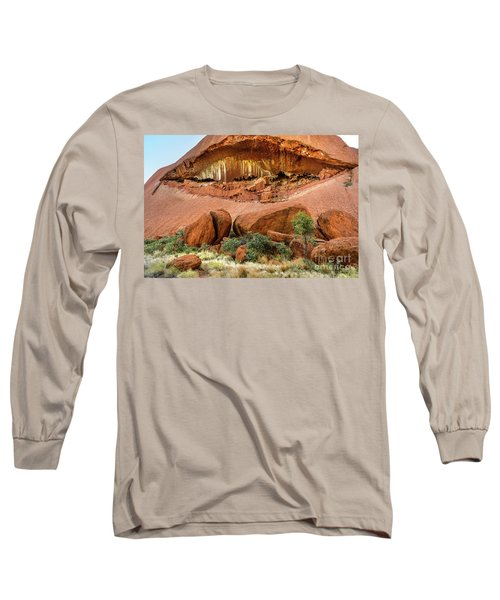 Long Sleeve T-Shirt featuring the photograph Uluru 06 by Werner Padarin