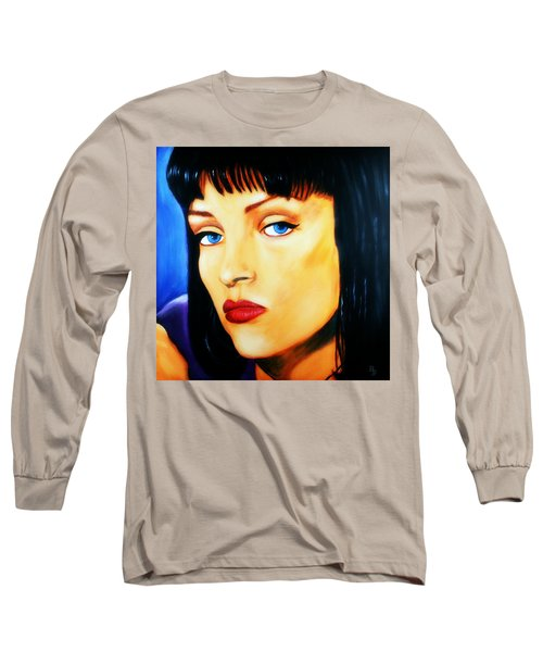 Uma Thurman In Pulp Fiction Long Sleeve T-Shirt